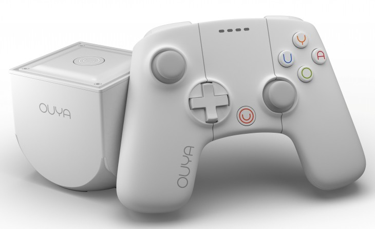 Ouya1 730x445 OUYAs Android based video game console gets a limited edition 16GB white version in time for Christmas
