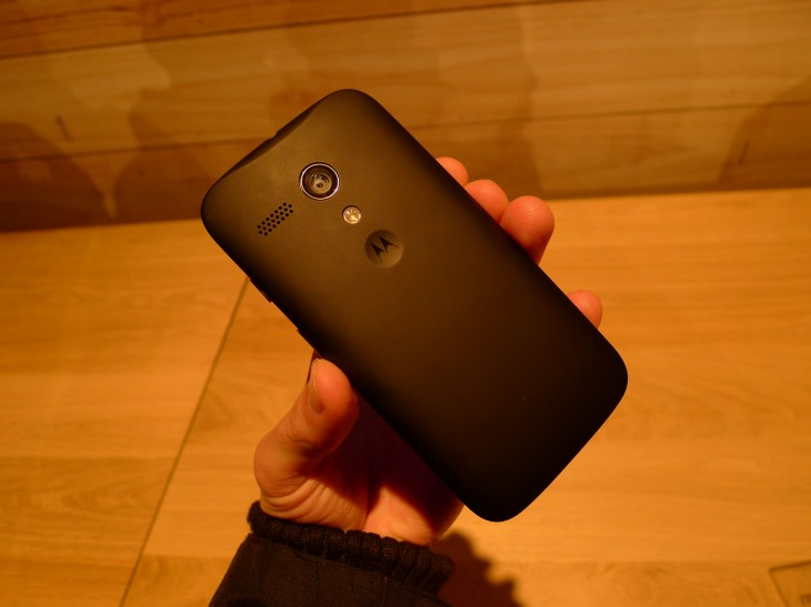 P1040575 730x547 Moto G hands on: Motorola ignores low end smartphone expectations with this stylish sub $200 handset