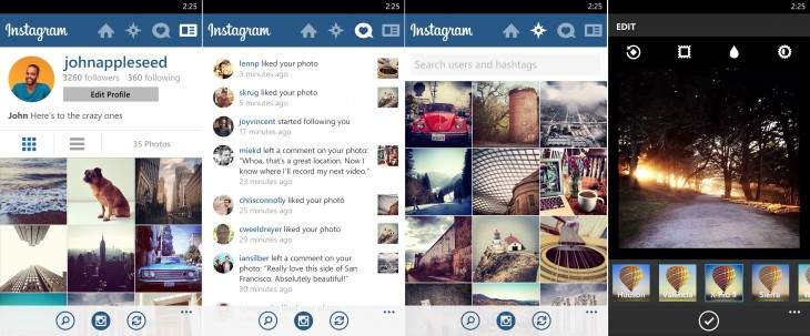 Profile 730x303 Its finally happening folks, Instagram lands on Windows Phone today