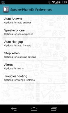 SpeakerPhone Ex 1 220x366 Make your Android device a whole lot smarter with these handy apps