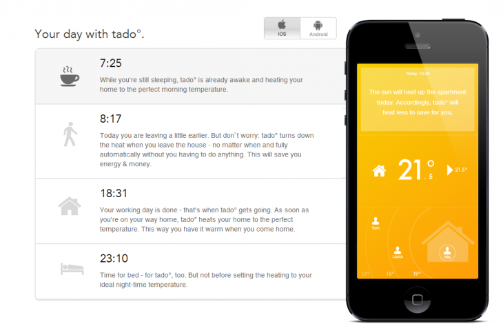 Tado 730x470 Tado's smart central heating system is available in the UK now, but get an engineer to install it