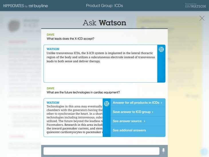 Watson platform 730x547 IBM to put Watson in the cloud, allow devs to tap into its special cognitive computing intelligence