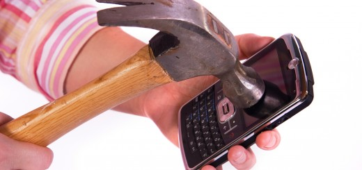 hammer kills blackberry