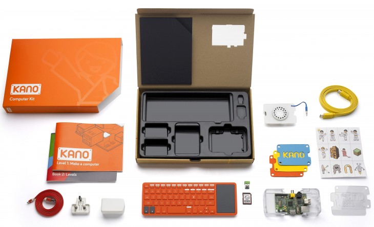 kano2 730x444 Kano launches a Kickstarter campaign for its $99 DIY, Raspberry Pi powered PC building kit