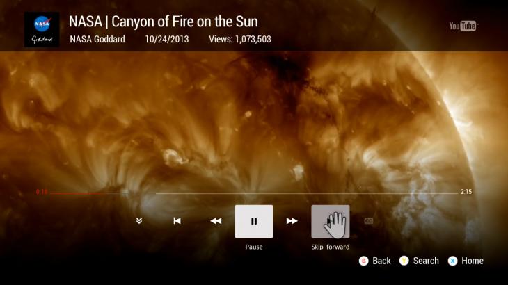 تطبيق يوتيوب يصل إلى جهاز Xbox One بخاصية الإيماءات والأوامر الصوتية