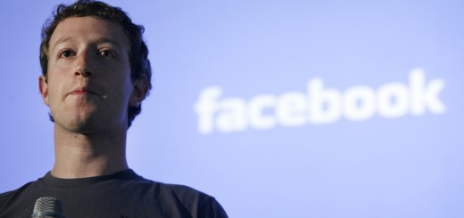 Mark Zuckerberg, CEO of Facebook, makes