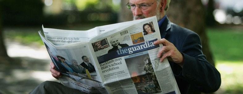 Guardian Newspaper Changes to Mid-Size Format