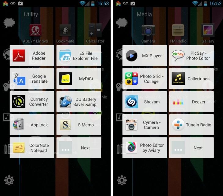 Add apps 730x642 11 of the best Android launchers and home screen replacements you can download today