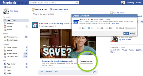 Asset 1 Facebooks new Donate feature lets you send cash to 18 non profit organizations