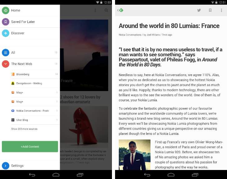 Feedly1 10 must have Android apps for keeping on top of the news
