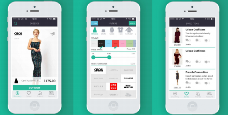 Mallzee 730x369 iOS fashion recommendation app Mallzee breaks out of beta with new Tinder esque UI