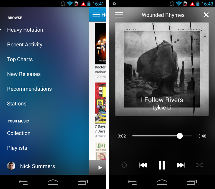 Rdio1 So you've just got an Android device? Download these apps first