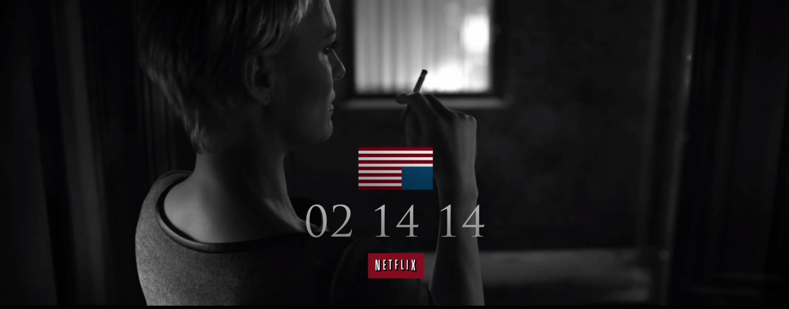 Netflix will release House of Cards season two on February 14 next year