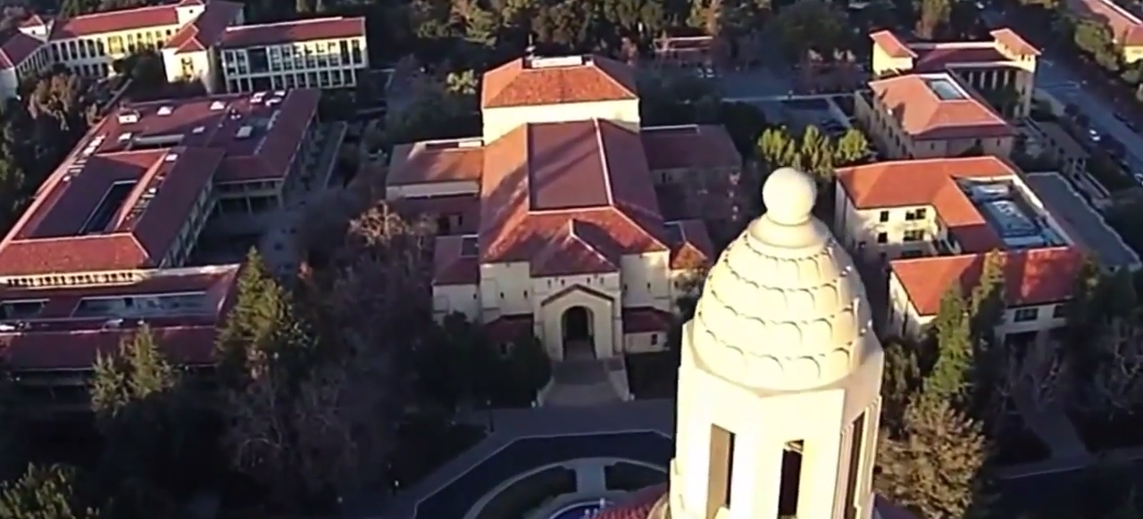 Check out this Auto-Awesome video shot with Google exec Vic Gundotra's quadcopter at Stanford