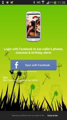 Screenshot 2013 12 23 11 36 30 220x391 TalkSide for Android brings context to your calls