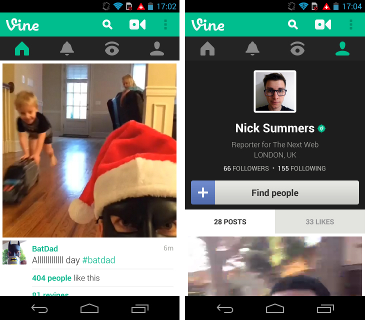 Vine1 So you've just got an Android device? Download these apps first