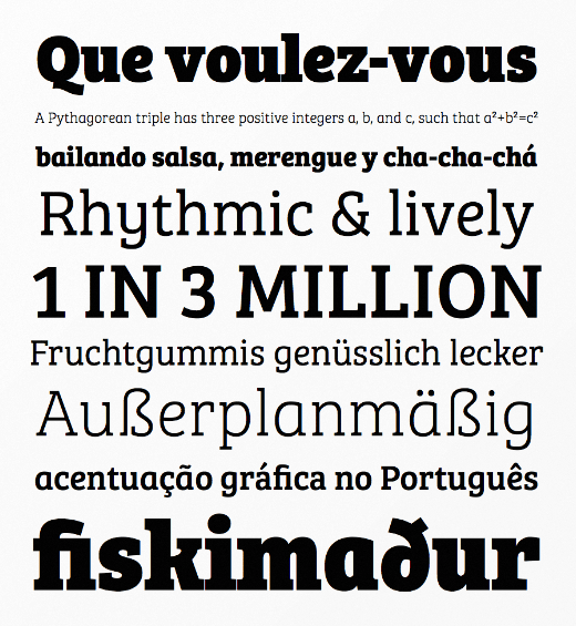 bree serif The best typefaces of 2013