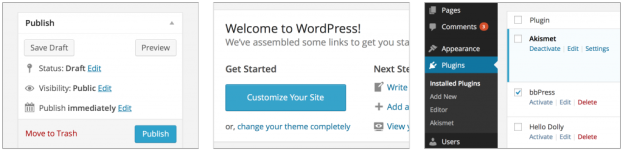 design WordPress 3.8 arrives with redesigned dashboard, new theme and widget screens, vector based icons, and more