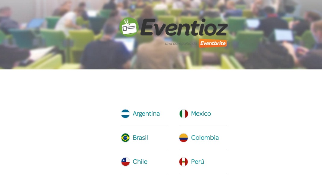 eventioz screenshot 2013 in Latin American tech: Less talk, more results