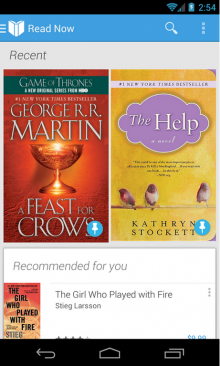 google play books 220x366 Google Play Books for Android now lets users upload their own books