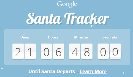 google santa tracker countdown Microsoft and NORAD once again go head to head with Google to track Santa this Christmas