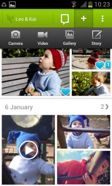 lifecake1 220x366 43 of the best Android apps launched in 2013