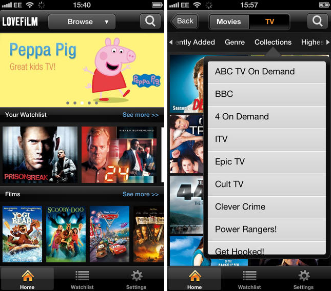 lovefilm 22 of the best iOS apps launched in November