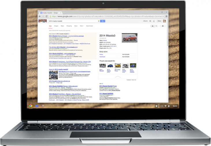 mazdasearchtip 730x508 Googles Knowledge Graph expands to cars with facts, specifications, and pricing for different configurations