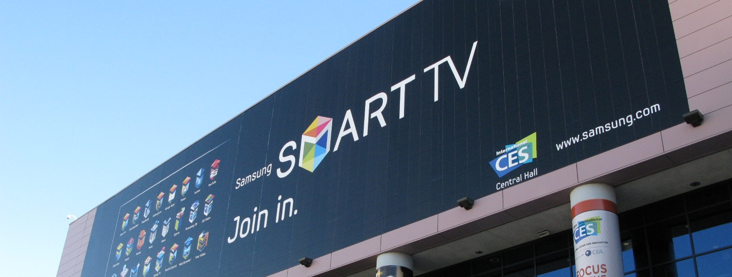 Smart TVs accounted for one third of all flat panel TVs shipped in 2013