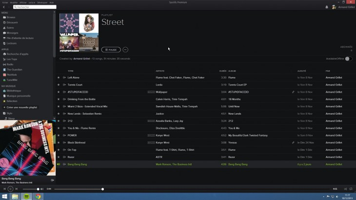 spotify windows 730x410 Spotify starts quietly rolling out a new look for its Android, Windows and Mac apps