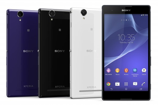 01 Xperia T2 Ultra Colorrange 520x348 Sony unveils Xperia T2 Ultra phablet and Xperia E1 smartphone with a focus on entertainment
