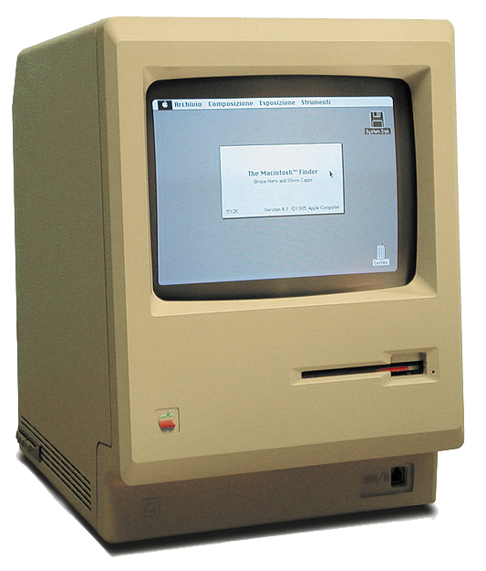 1 Macintosh 128k transparency1 30 years in 33 photos: A visual history of the Apple Mac