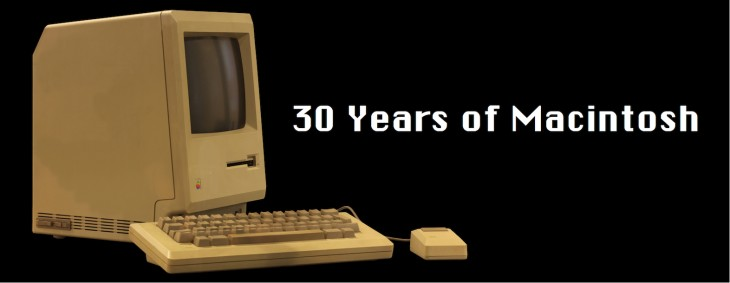 30yearsofmac 730x283 Do you remember your first Apple Mac?