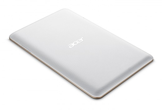 Acer Iconia B1 720 flat ivory gold 520x352 Acer unveils two new sub $200 Android tablets, a $1099 desktop, and an updated C720 Chromebook