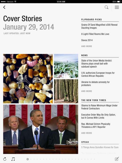 NewCoverStories 520x693 Flipboard redesigns Cover Stories to help surface interesting content from your subscriptions