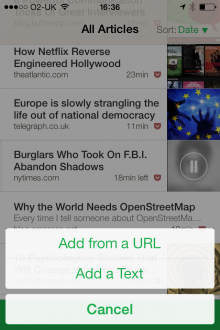 Photo 16 01 2014 16 36 57 220x330 Outread for iOS highlights text to help speed your way through your reading list