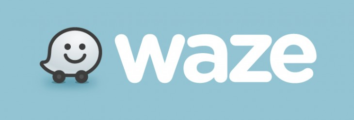WazeLogo BlueBG 730x248 Waze opens an Android beta testing program to pilot new features for its social navigation app
