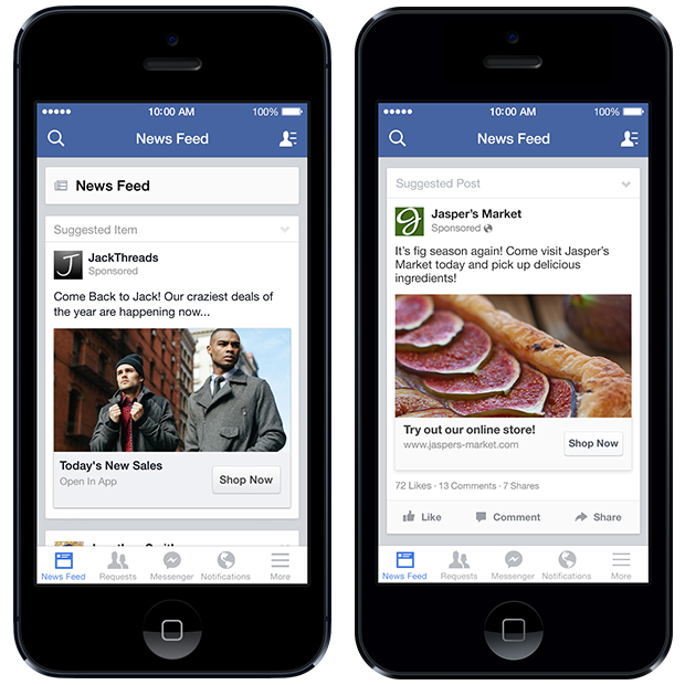 facebook targeting Facebook now lets all advertisers target people who visited their site or used their mobile app