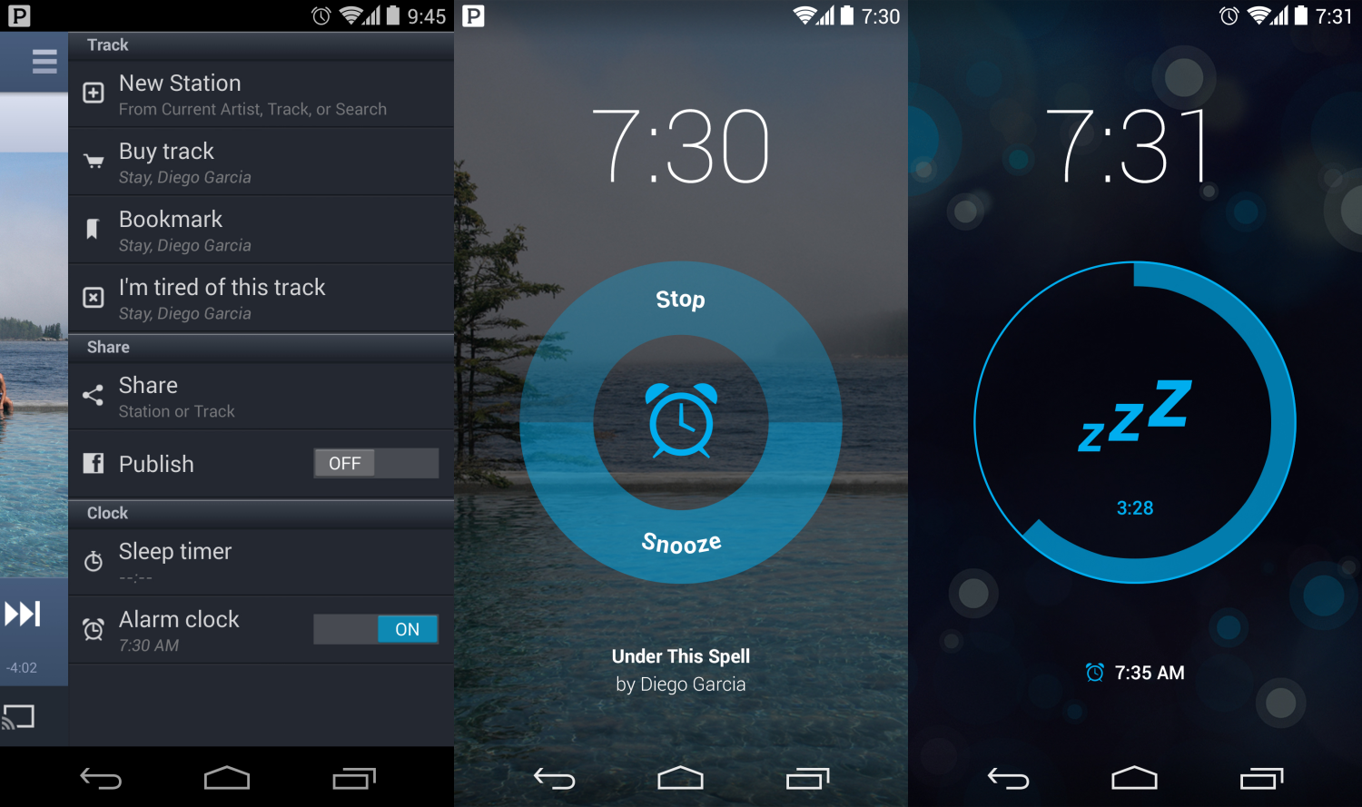 pandora android alarm Following iOS, Pandora for Android gets an alarm clock for waking up to your favorite station