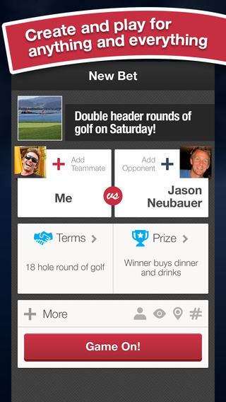 YouBetMe officially launches its social betting iPhone app in time for the Super Bowl