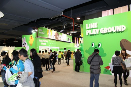 1a72815b 520x346 Asian chat app Line now has its own theme park, and its going global