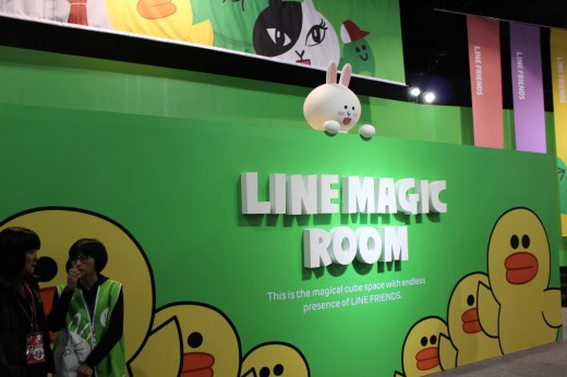 91564a53 520x346 Asian chat app Line now has its own theme park, and its going global