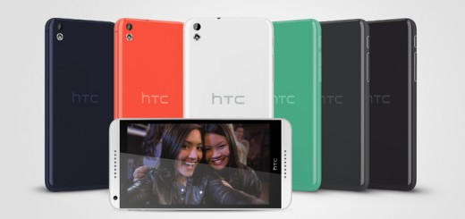 HTC Desire 816 AllColors 520x245 HTC unveils mid range Desire 816 Android smartphone with 5.5 720p display and BoomSound speakers