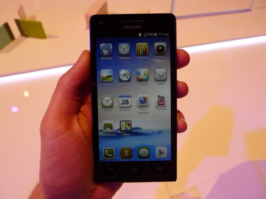 P1040954 520x390 Huawei unveils the Ascend G6, a skinny 4G enabled Android smartphone