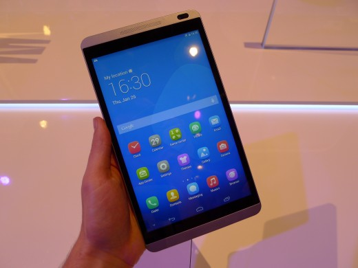 P1040969 520x390 Huawei launches pocket friendly MediaPad X1 and M1 Android tablets at MWC 2014