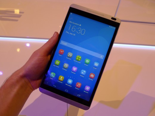 P1040970 520x390 Huawei launches pocket friendly MediaPad X1 and M1 Android tablets at MWC 2014