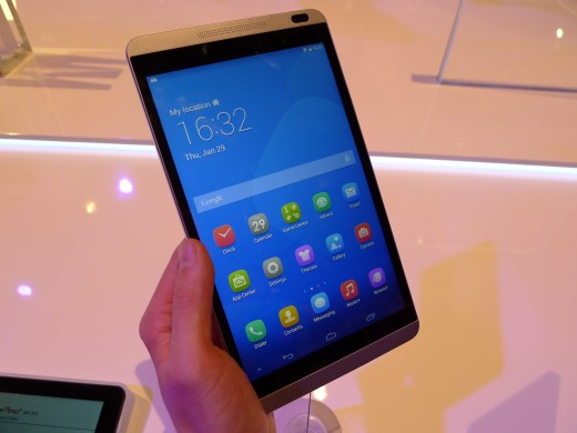 P1040982 520x390 Huawei launches pocket friendly MediaPad X1 and M1 Android tablets at MWC 2014
