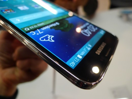 P1050084 520x390 Samsung Galaxy S5 hands on: Is the fingerprint scanner and heart rate monitor just a gimmick?