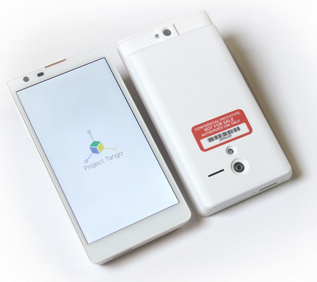 Google unveils new Project Tango smartphone project with revolutionary 3D sensor chip