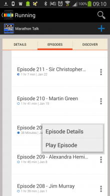 Screenshot 2014 02 21 09 10 44 220x391 Looking for offline podcasts? Stitcher for Android just got a whole lot better.